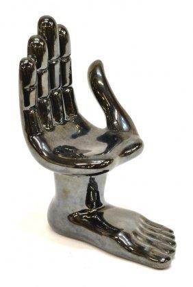 Pedro Friedeberg (b.1936) Hand/foot Chair