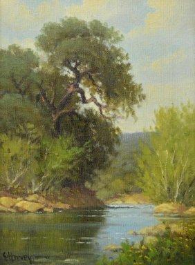 G. Harvey (texas, B. 1933), Landscape Painting