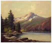 ROBERT W. WOOD (1889-1979), MOUNTAIN PAINTING