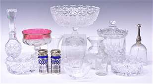 14 TIFFANY  CO  OTHER GLASS TABLE ITEMS