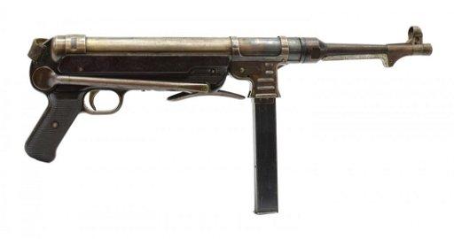 GERMAN MP40 WWII DUMMY MACHINE GUN