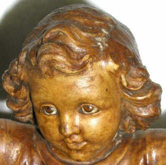 3: ANTIQUE RELIGIOUS STATUE CHRIST CHILD