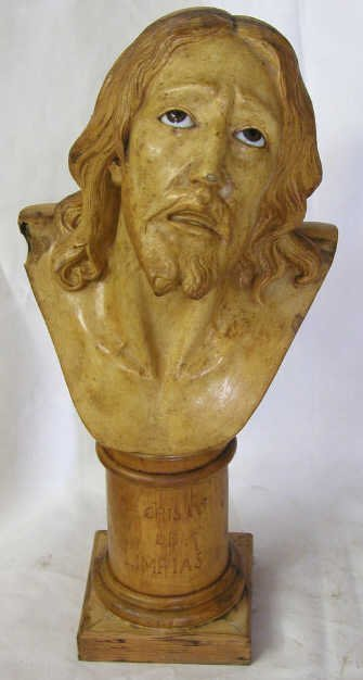 5: ANTIQUE RELIGIOUS STATUE CHRIST