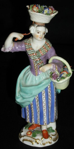 12: MEISSEN LADY FIGURE