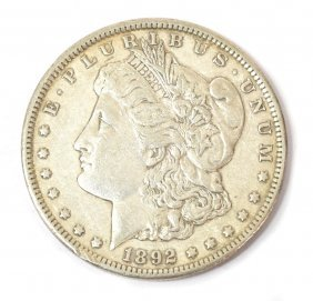 U.S. 1892 CARSON CITY SILVER DOLLAR