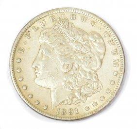U.S. 1891 CARSON CITY SILVER DOLLAR