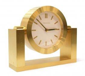 OPERATING TIFFANY & CO. 'SWING CLOCK', BOX & BAG