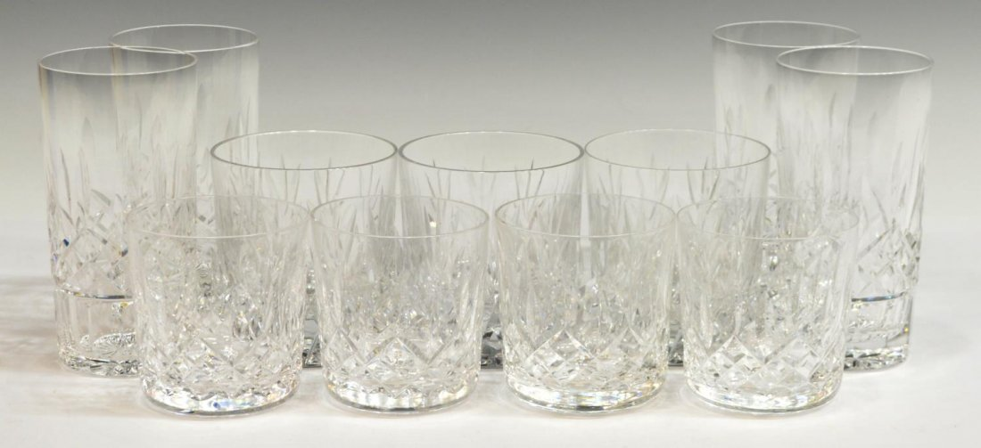 (11) WATERFORD CRYSTAL 'LISMORE' TUMBLER GLASSES