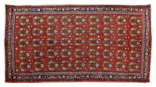 HAND TIED PERSIAN WOOL HAMADAN RUG 93 X 410