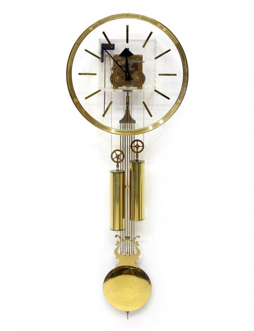 HOWARD MILLER GEORGE NELSON 2 WEIGHT MODERN CLOCK