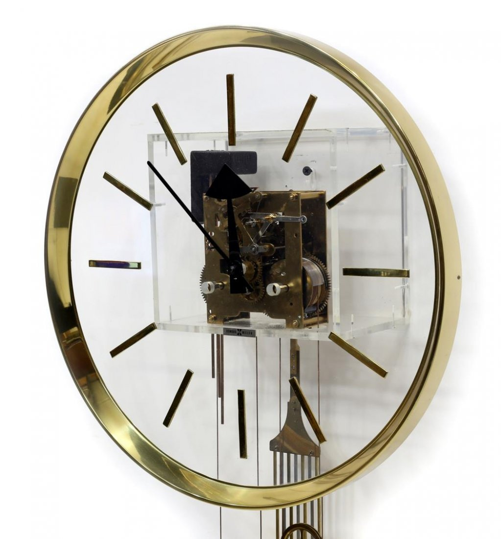 HOWARD MILLER GEORGE NELSON 2 WEIGHT MODERN CLOCK - 6