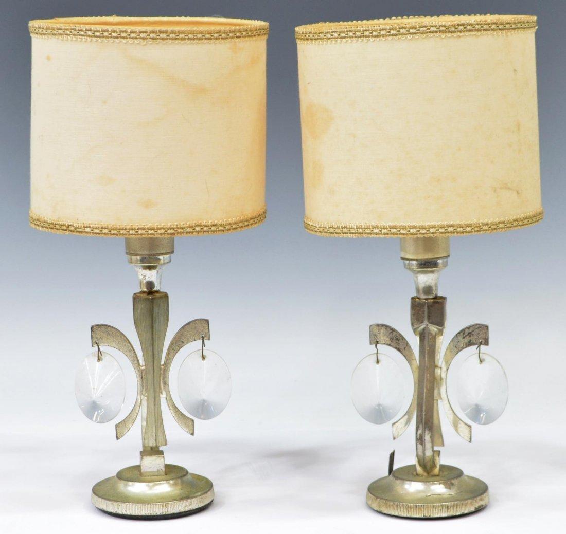 (2) SCIOLARI DESIGN ITALIAN MODERN TABLE LAMPS
