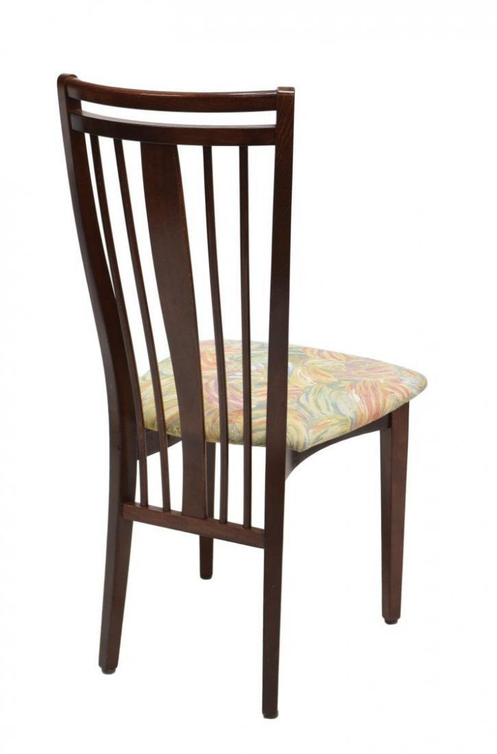 4) DANISH MODERN DESIGN SPINDLE BACK DINING CHAIRS - 3