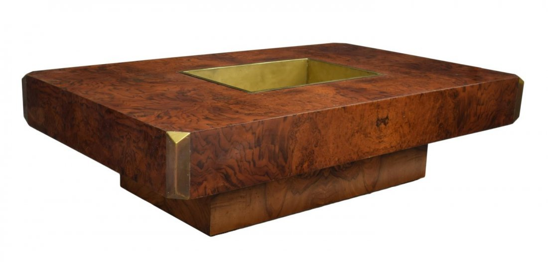 ITALIAN DESIGN 'ALVEO' SOFA TABLE BY WILLY RIZZO