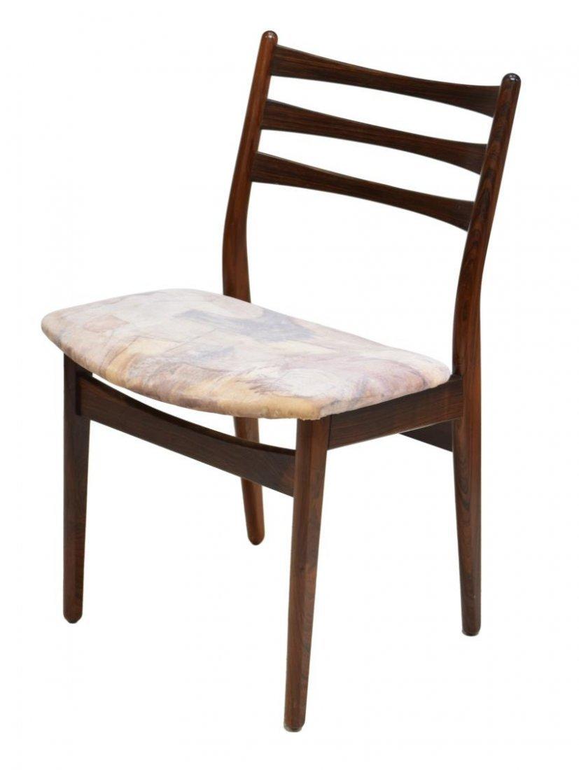 6)DANISH MID-CENTURY MODERN ROSEWOOD DINING CHAIRS - 2