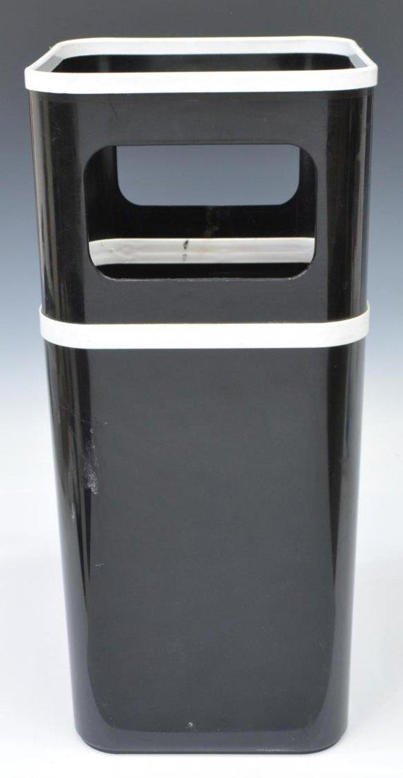 (2) MODERN PLASTIC & GILT METAL UMBRELLA STANDS - 5