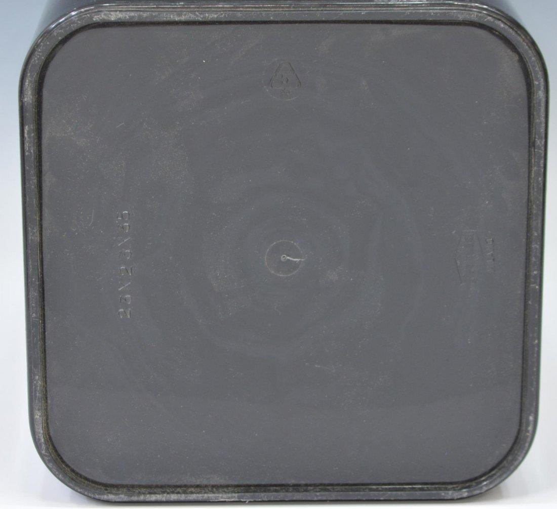 (2) MODERN PLASTIC & GILT METAL UMBRELLA STANDS - 6