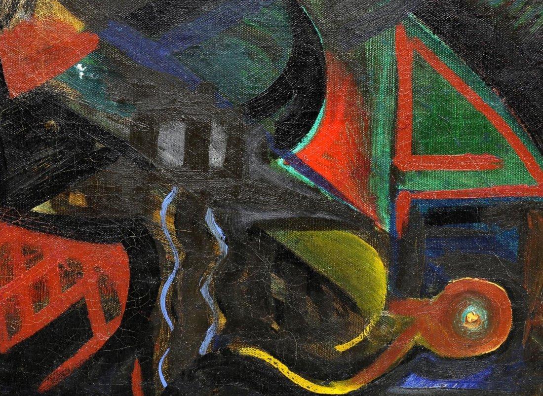 ALEXANDER KREISEL (1901-1953) ABSTRACT PAINTING - 2