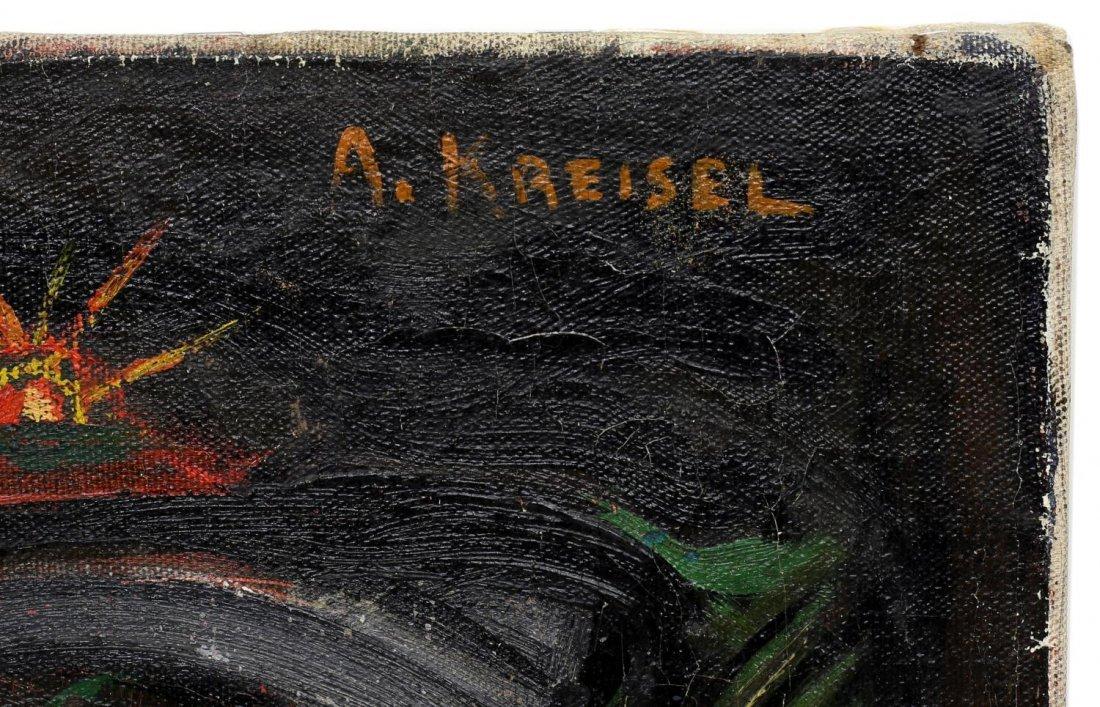 ALEXANDER KREISEL (1901-1953) ABSTRACT PAINTING - 3