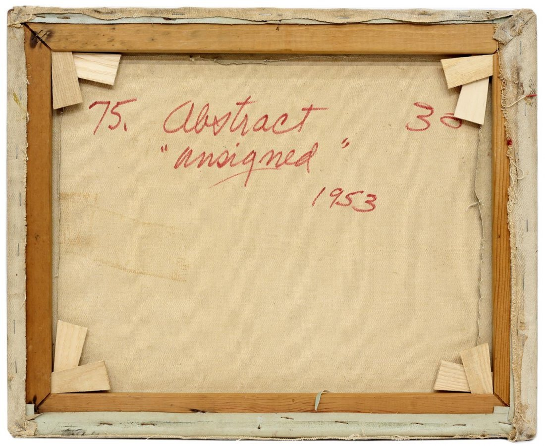 ALEXANDER KREISEL (1901-1953) ABSTRACT PAINTING - 4