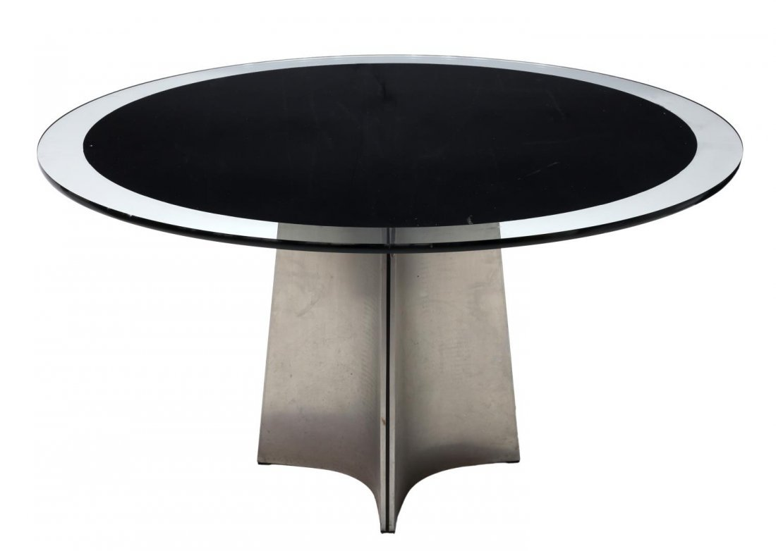 LUIGI SACCARDO FOR MAISON JANSEN DINING TABLE 1970