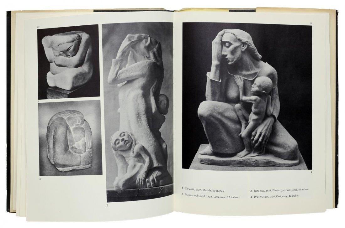CHARLES UMLAUF(1911-1994)CHARCOAL PORTRAIT, A LADY - 7