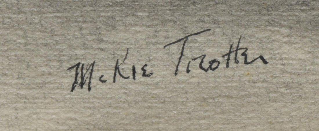 McKIE TROTTER (1918-1999), TREES, INK & GRAPHITE - 3