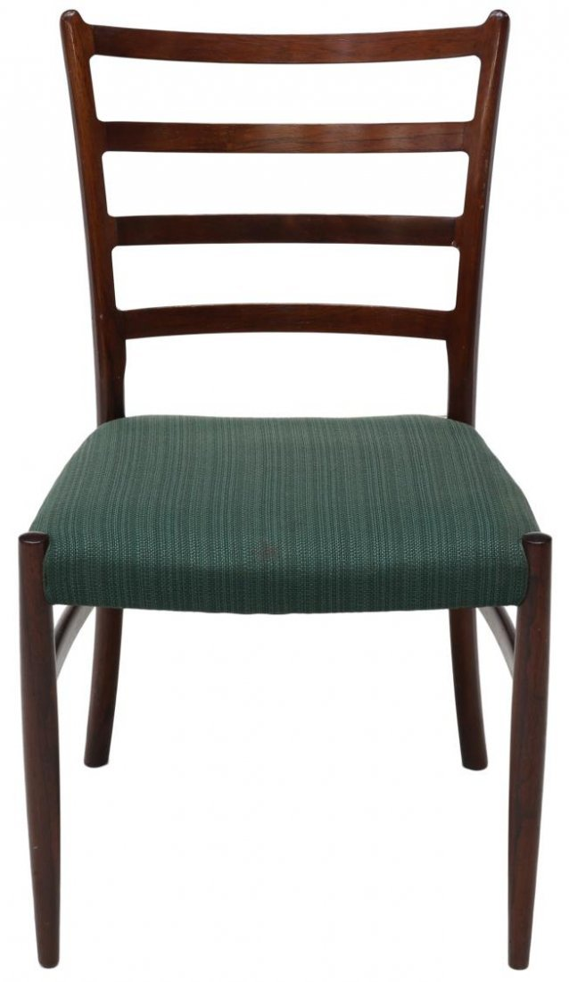 (6) DANISH MID-CENTURY MODERN ROSEWOOD SIDE CHAIRS - 2