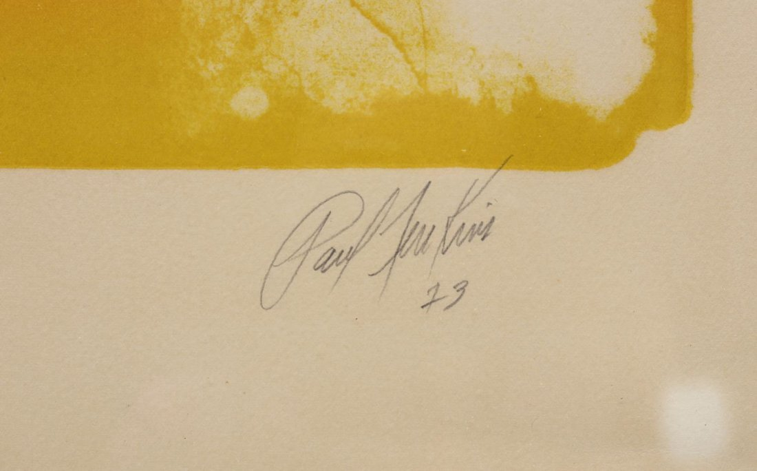 PAUL JENKINS (1923-2012) SIGNED LITHOGRAPH - 4