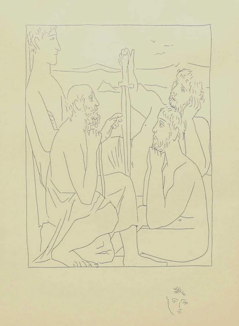 AFTER PICASSO, FROM LES METOMORPHOSES DE OVID