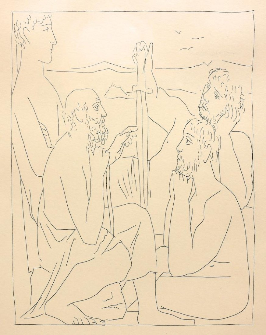 AFTER PICASSO, FROM LES METOMORPHOSES DE OVID - 3