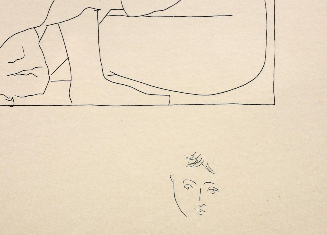AFTER PICASSO, FROM LES METOMORPHOSES DE OVID - 4
