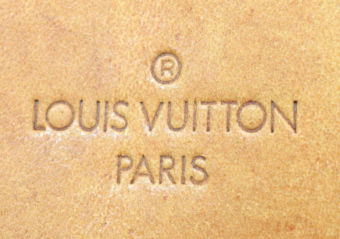 LOUIS VUITTON 'DEAUVILLE' MONOGRAM CANVAS HANDBAG - 4