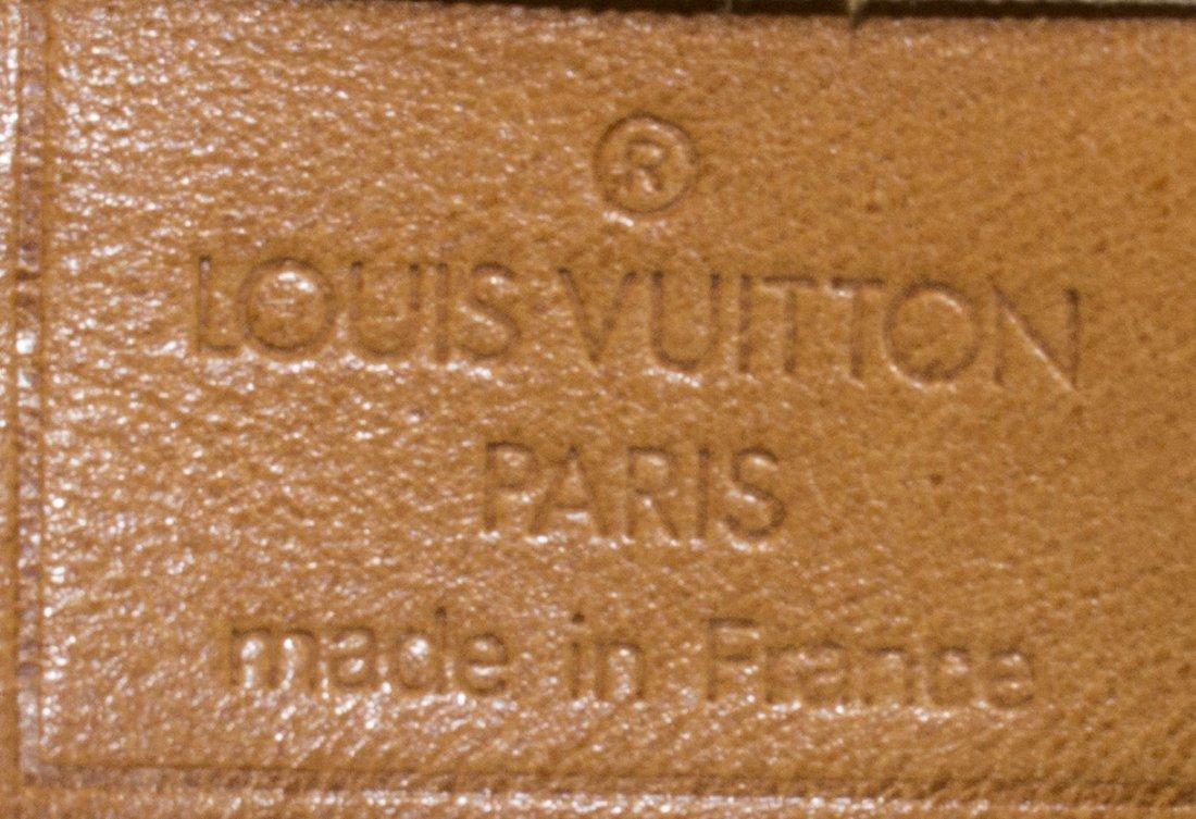 LOUIS VUITTON 'DEAUVILLE' MONOGRAM CANVAS HAND BAG - 5