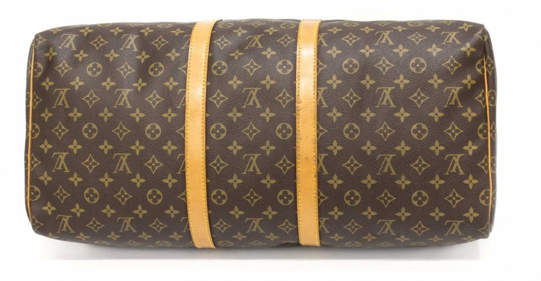 LOUIS VUITTON 'KEEPALL 55' MONOGRAM DUFFLE - 3