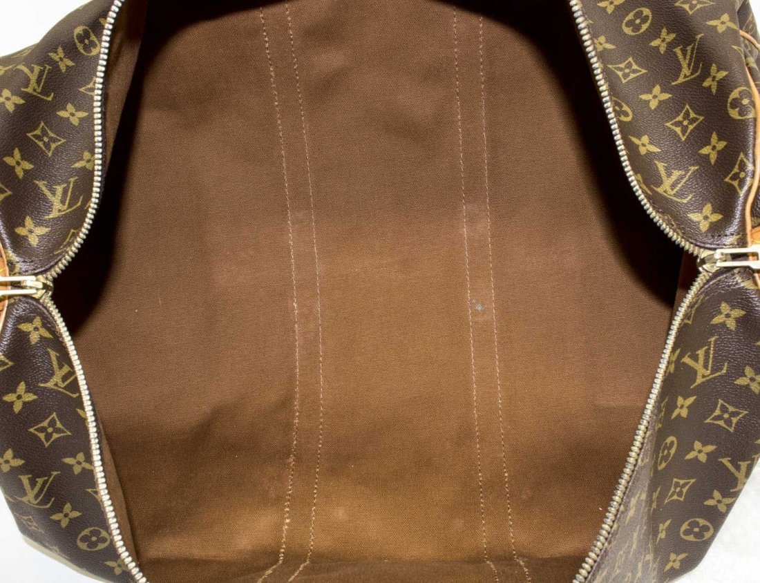 LOUIS VUITTON 'KEEPALL 55' MONOGRAM DUFFLE - 5