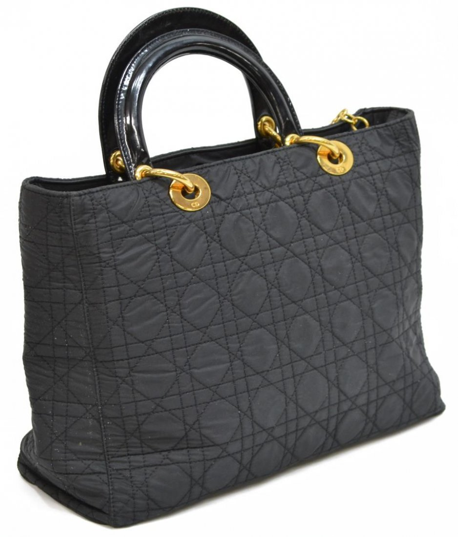 CHRISTIAN DIOR 'LADY' CANNAGE QUILTED HANDBAG - 2