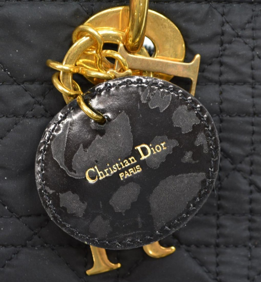 CHRISTIAN DIOR 'LADY' CANNAGE QUILTED HANDBAG - 5