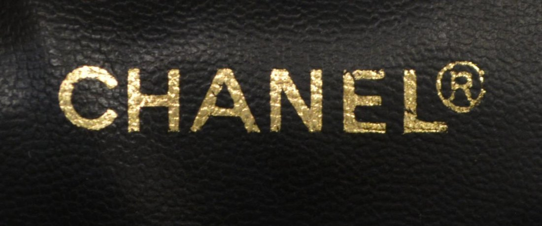 CHANEL LAMBSKIN QUILTED LEATHER COSMETIC BAG - 5