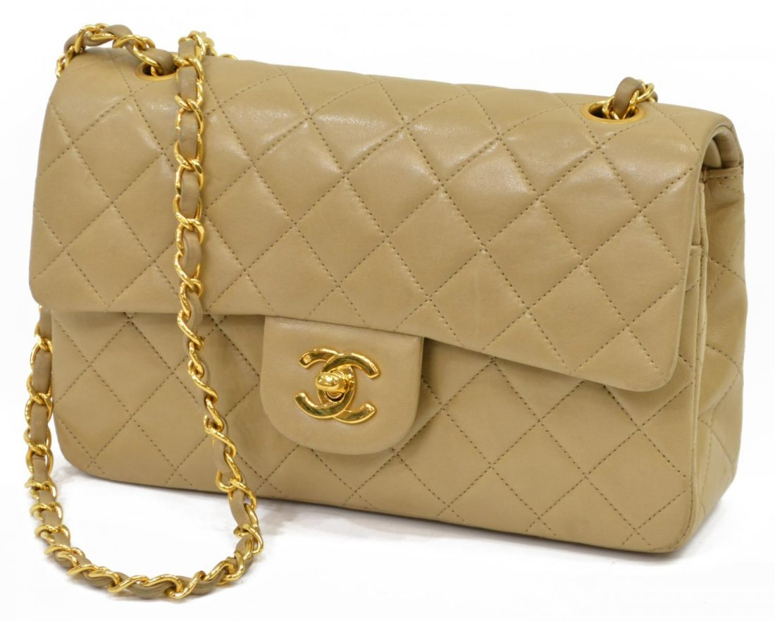 CHANEL QUILTED LEATHER CLASSIC DOUBLE HANDBAG