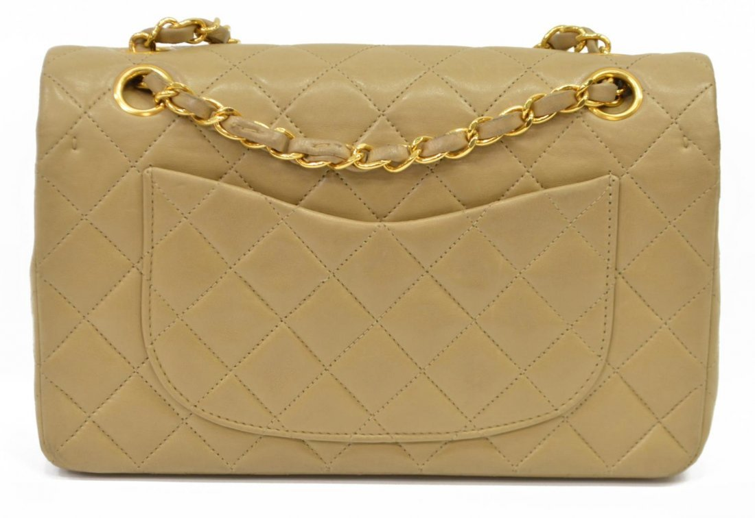 CHANEL QUILTED LEATHER CLASSIC DOUBLE HANDBAG - 3