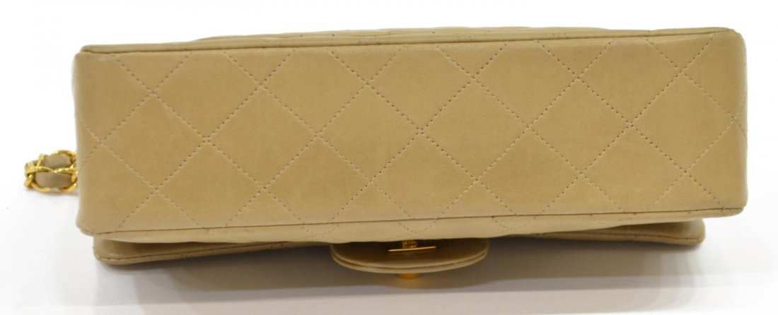 CHANEL QUILTED LEATHER CLASSIC DOUBLE HANDBAG - 4