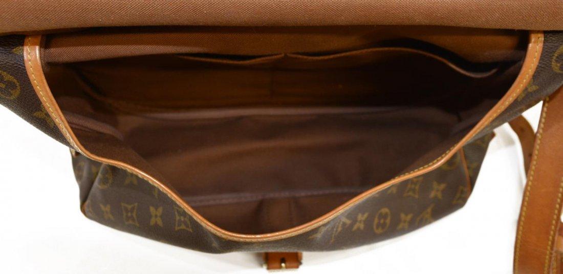 LOUIS VUITTON 'SAUMUR 30' MONOGRAM MESSENGER BAG - 6