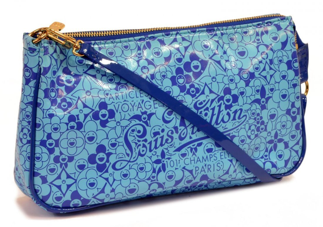 LOUIS VUITTON MURAKAMI PATENT ACCESSORY POUCH
