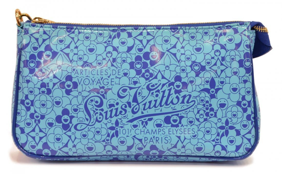 LOUIS VUITTON MURAKAMI PATENT ACCESSORY POUCH - 2