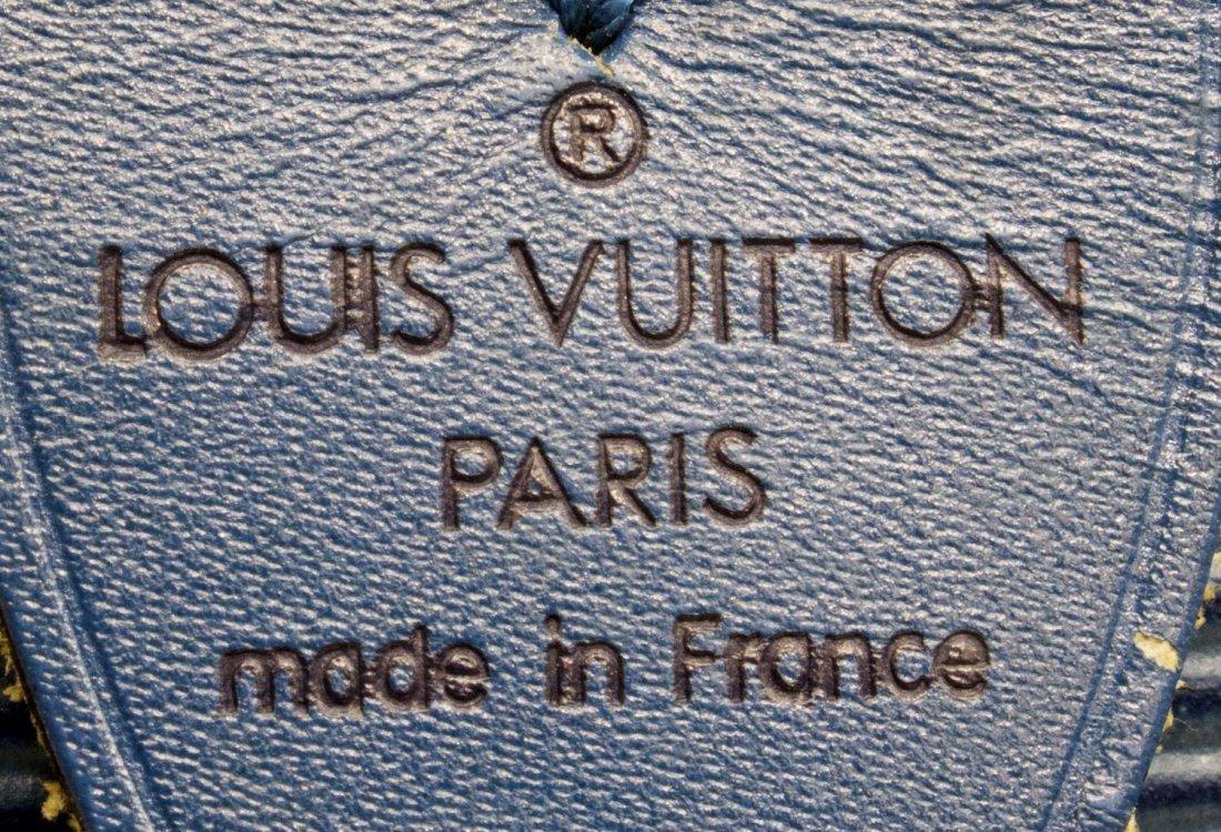 LOUIS VUITTON 'KEEPALL 45' EPI LEATHER DUFFLE BAG - 5