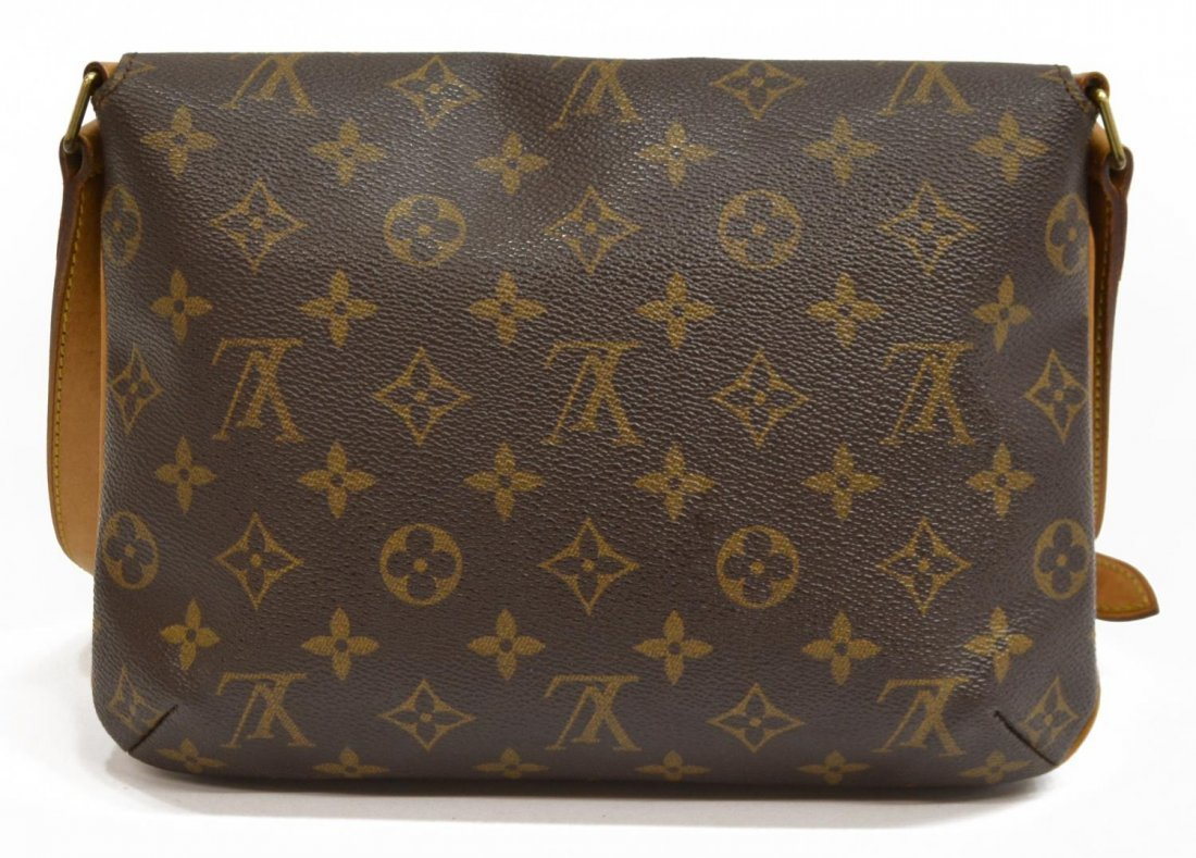 LOUIS VUITTON 'MUSETTE TANGO' MONOGRAM BAG - 3