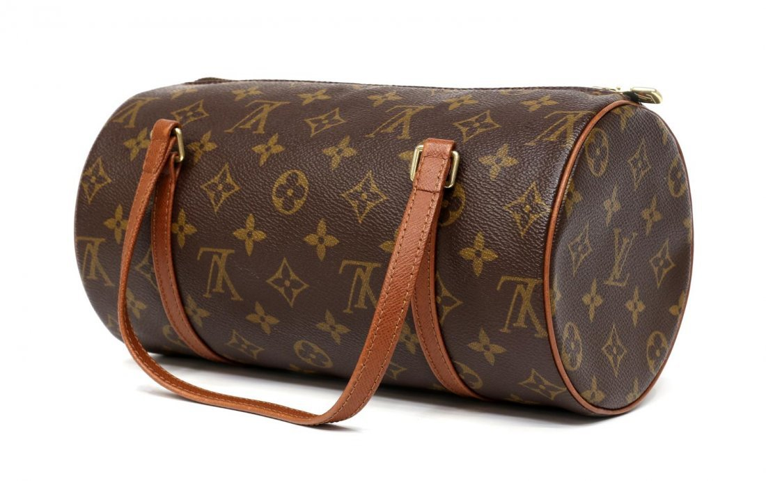 LOUIS VUITTON MONOGRAM 'PAPILLON 26' HAND BAG