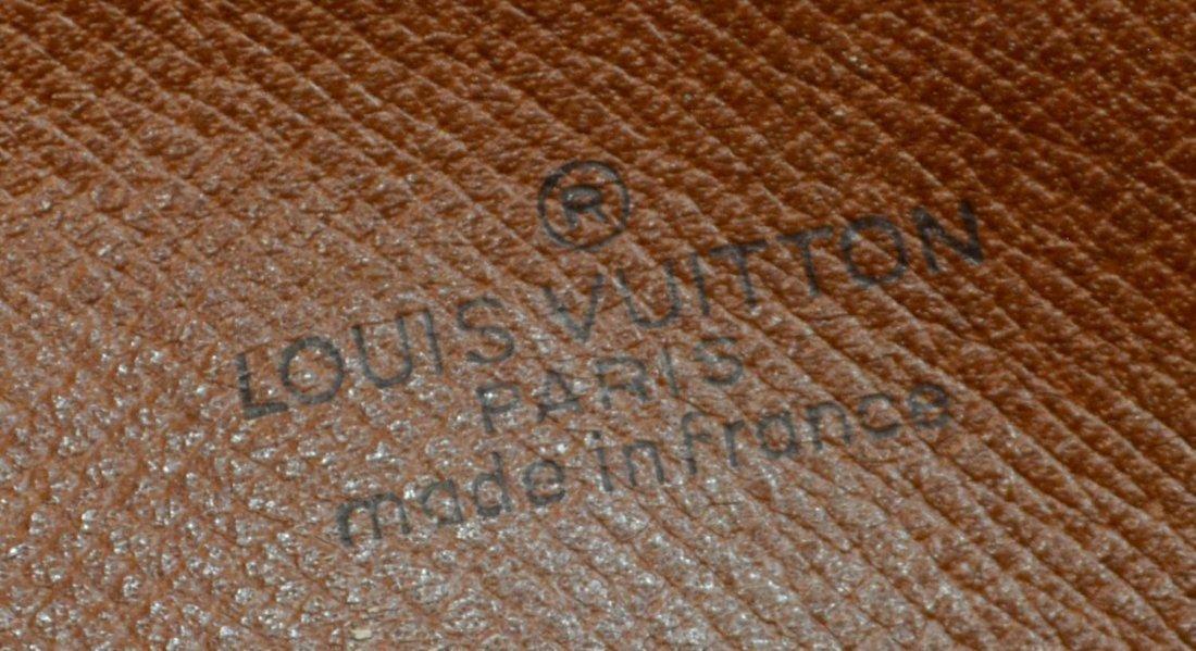 LOUIS VUITTON 'MARLEY DRAGONNE' MONOGRAM CLUTCH - 5