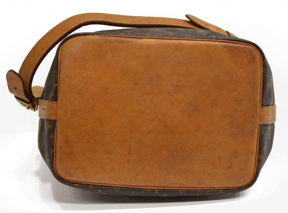LOUIS VUITTON 'NOE PM' MONOGRAM CANVAS BUCKET BAG - 4